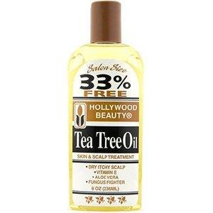 Tea Tree Oil Hair - HOLLYWOOD BEAUTY Tea Tree Oil Skin & Scalp Treatment 8 oz