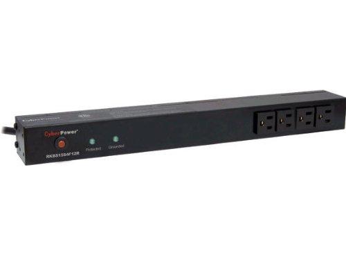 12R 15A 16-Outlet 1U RM Rackbar Surge Suppressor ()