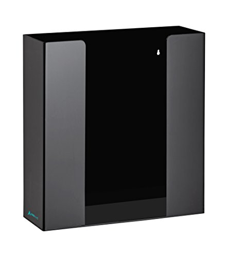 AdirMed Black Acrylic Glove Box Dispenser (2 Box Capacity) ()