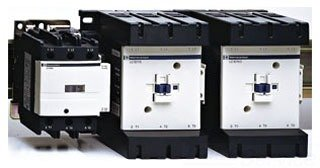 SCHNEIDER ELECTRIC Contactor 600-Vac 150-Amp Iec Plus Options LC1D150G7 Busway Wall Flange