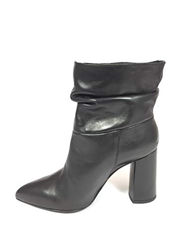 Made Donna Italy In Nera Tronchetto Pelle wY5Aq1qf