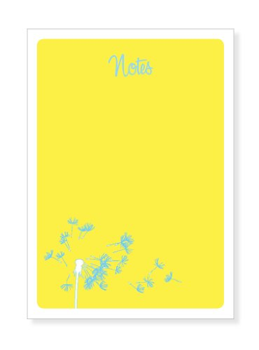 dandelion-brite-yellow-50-page-note-pad