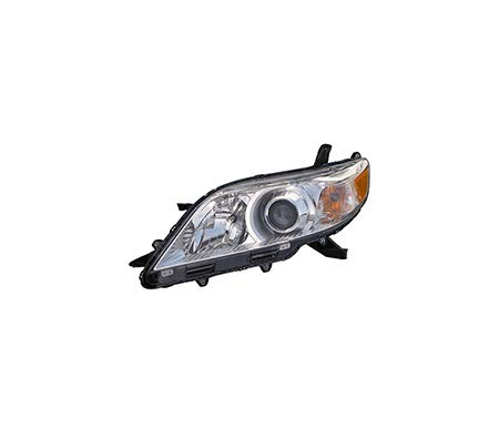 Fits 2011-2017 Toyota Sienna Head Light Driver Side TO2502199 BASE|LE|XLE|LIMITED; Halogen - replaces 81150-08030