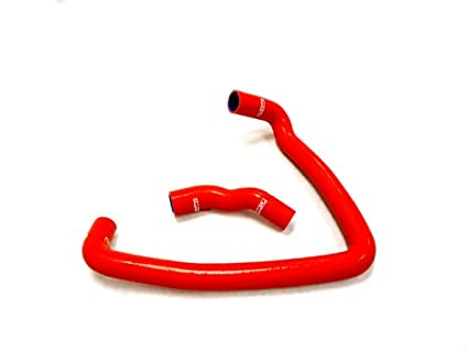 OBX Pure Silicon Radiator Hose 90-96 Nissan 300ZX Twin Turbo Red