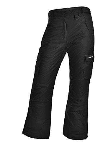 Arctix 1830-00-M Women's Snowsport Cargo Pants, Medium, Black