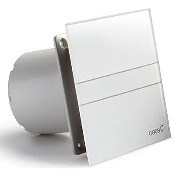 Ventilator Lufter Badlufter Cata E 100 G Standard Glas