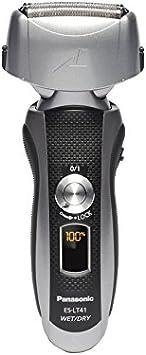 Panasonic ES-LT41-K Máquina de afeitar de rotación Negro, Plata - Afeitadora (Máquina de afeitar de rotación, Negro, Plata, 1 h, 63,5 mm, 43,2 mm, 157,5 mm): Amazon.es: Salud y cuidado personal