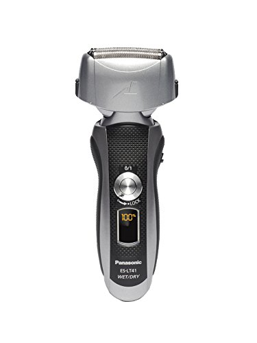 Panasonic ES-LT41-K Arc3 Wet Dry Electric Razor, Men's 3-Blade Cordless with Flexible Pivoting Head, - Panasonic Shavers Electric
