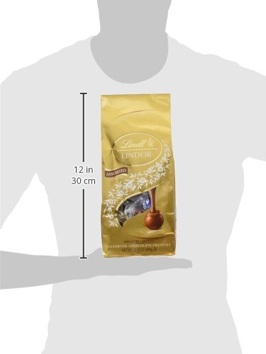 Large Product Image of Lindt LINDOR Assorted Chocolate Truffles, Kosher, 21.2 Ounce Bag