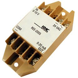KMC Controls, Inc. REE2005 REE-2005 Relay Module, 0–10 VDC Voltage to 0–20 mA Current Transducer