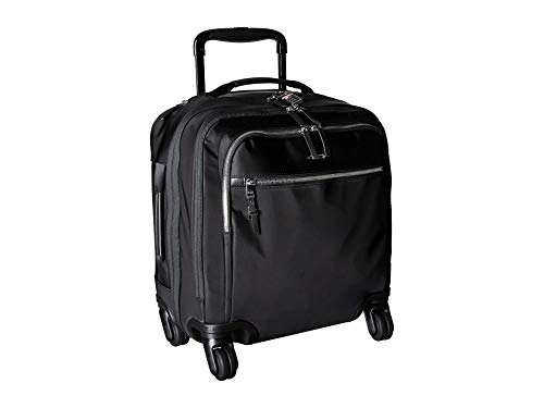 TUMI - Voyageur Osona Compact Wheeled Carry-On Luggage - 16 Inch Rolling Suitcase for Women - Black/Silver (Tumi Tags Luggage)
