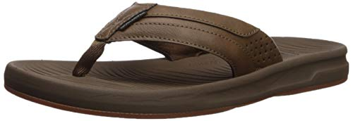 Quiksilver Men's Travel Oasis Sandal, tan - Solid, 11(44) M US