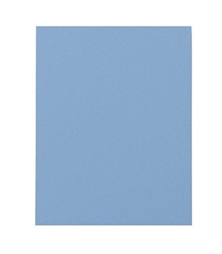 Fabrication Enterprises 24-5510-4 24 x 18 x 0.125 in. Manosplint Wisconsin Thermoplastic Splinting Sheet - Solid Blue44; Case of 4 by Fabrication Enterprises