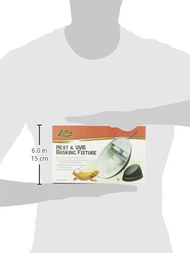 Zilla Reptile Terrarium Heat Lamps, Mini Halogen & UVB Combo Fixture by Zilla (Image #8)