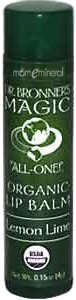Dr. Bronner's Lemon Lime .15 oz