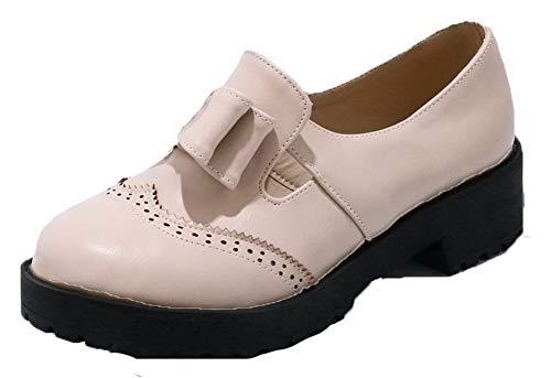 Donna Puro Punta Beige Ballet Chiusa Agoolar Gmmdb006144 flats d5xEwacqR