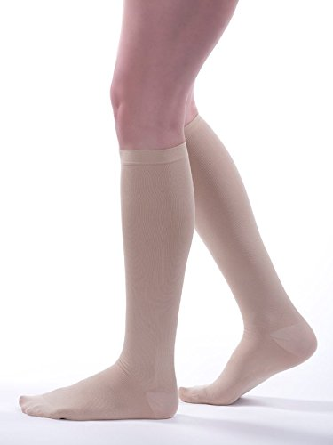 - Allegro Women's 8-15 mmHg Premium 249 Ribbed Dress Sock Compression Socks