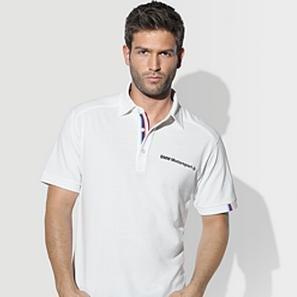 BMW Genuine Logo Men's Motorsport Polo Shirt / White S