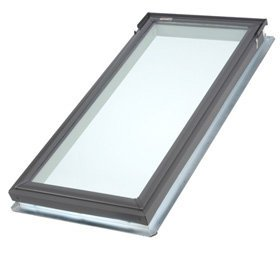 - Velux Fsc062004 Fixed Deck Mount Skylight, Lam Glass, 21