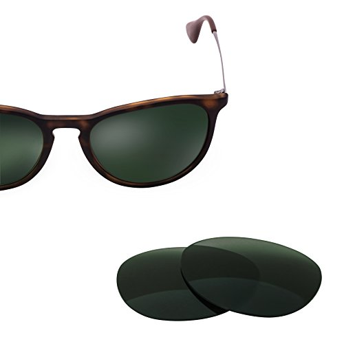 LenzFlip Replacement Lenses for Ray Ban Erika RB 4171 - G15 Green Polarized Lenses - Originals Erika's