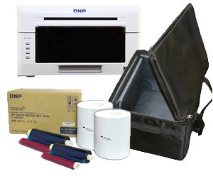 Amazoncom Dnp Ds620a Dye Sub Photo Printer With 4x6 Printer Media