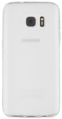mumbi Hülle für Samsung Galaxy S7 Schutzhülle transparent weiss