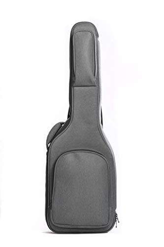 Electric Guitar Gig Bag by Hola! Music, Pro Series with 25mm Padding, Black