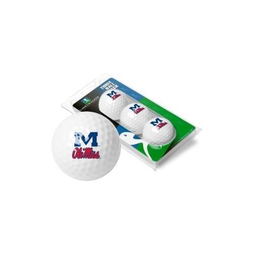 NCAA Mississippi Rebels - Ole Miss - 3 Golf Ball Sleeve