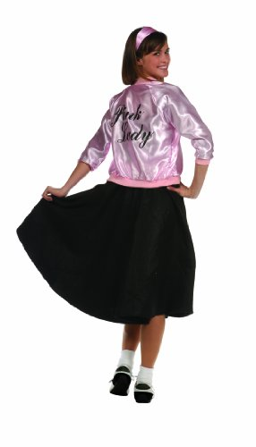 RG Costumes 50's Lady Jacket, Pink, Adult Size(8-12) - Ladies Jacket Costumes