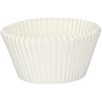 Amazoncom Norpro Giant Muffin Cups White Pack of 500 Muffin