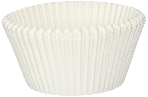 Norpro Giant Muffin Cups, White, Pack of 500 - Jumbo Cupcake Wrappers