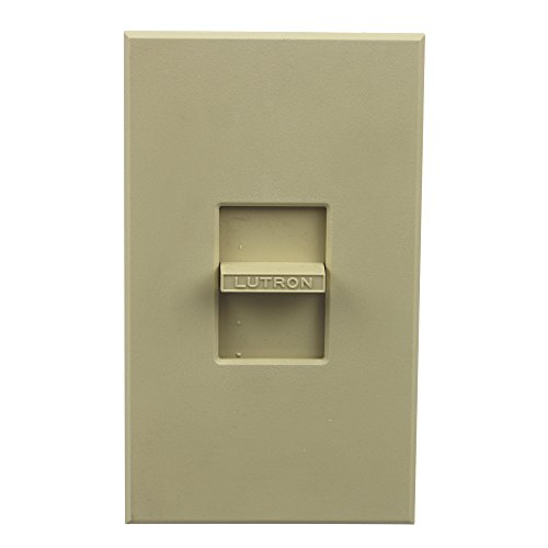 Lutron NF-10-IV Standard Switches Electrical Distribution Switcher Ivory