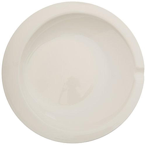 """Sammons Preston Round Scoop Dish, 9"""" Scooper Bowl with Extra Thick Melamine, Durable and Functional Plate for Independent Eating, Self-Feeding Aid, Grooved Lip and Non Skid Bottom for Stability"""