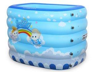 Baby Schwimmbad/Halten Säuglinge Kinder Planschbecken aufblasbar/Freizeitbad/Super Size schwimmen Fässer-B