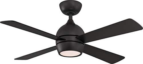 Fanimation FP7644BL Kwad 44 Ceiling Fan, Black