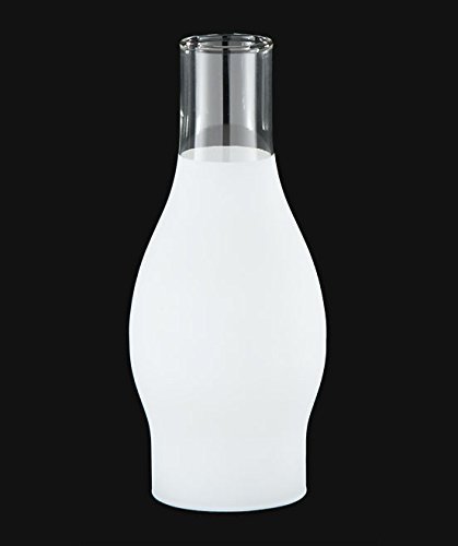 "B&P Lamp 2 5/8"" X 7 1/2"" Chimney, 3/4 Frost"