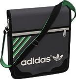 Adidas unisex messenger bag,34 cm x 8 cm x 31 cm,Black