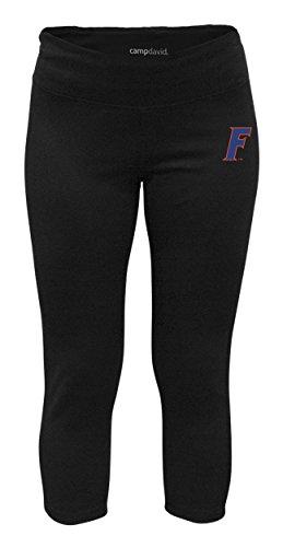 NCAA Crosstown Women's Cropped Active Lifestyle Pant, Florida Gators, Black, ()
