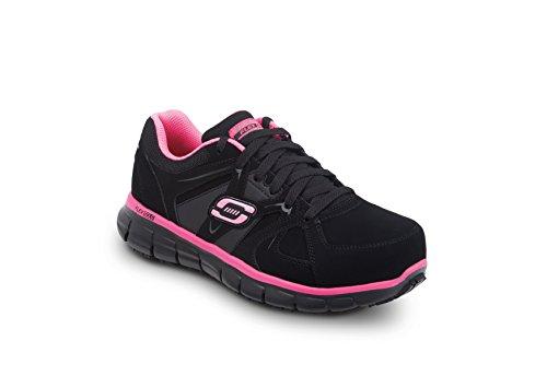 Skechers Jackie Vrouwen Maxtrax Antislip Atletische Sneaker Roze / Zwart