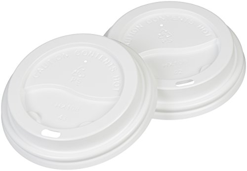 (AmazonBasics Cup Lid for 12 oz - 20 oz Paper Cups,)