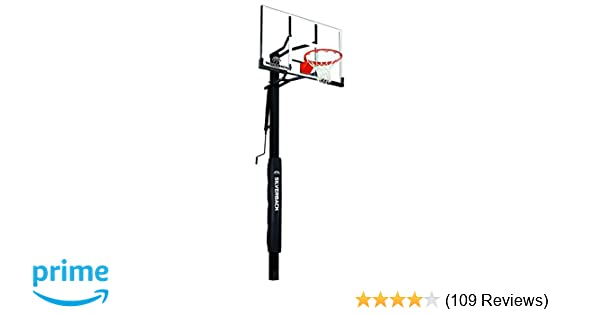 Amazon Silverback 54 In Ground Height Adjustable Basketball