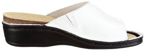 Hans Herrmann Collection Siena 022095E-20 Damen Clogs & Pantoletten Weiss/Bianco