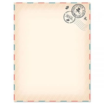 love letter letter papers set of 25 valentinestationery papers are 8 1