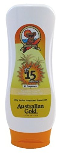 Australian Gold Spf#15 Lotion 8oz Water Resistant Sunscreen
