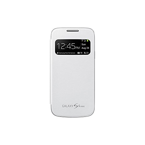 (Samsung S View - Case for cellular phone - white - for GALAXY S4 Mini)