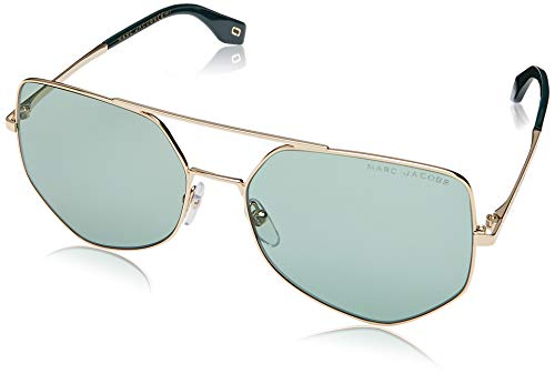 (Sunglasses Marc Jacobs 326 /S 0PEF Gold Green/QT green lens)