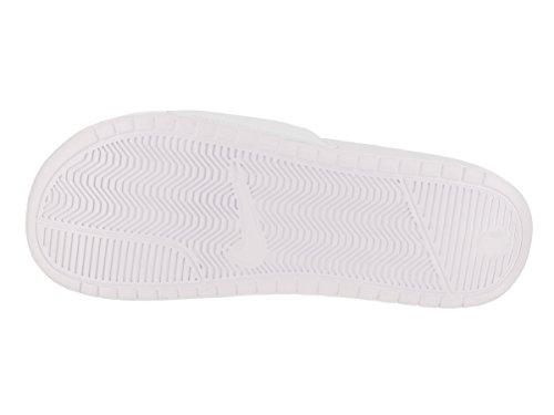 Nike Mens Benassi Doe Het Gewoon Dia Sandaal Wit / Varsity Royal / Wit