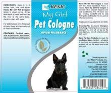 Kenic My Girl Opium Pet Cologne 1Gal