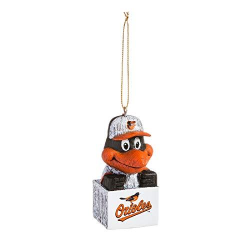 (Evergreen MLB Baltimore Orioles OrnamentTiki Design, Team Colors, One)