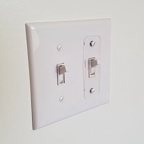 Toggle Switch Light Switch Locks , Child-Safe, Residential, Lighting, Ect. - Safe Switch